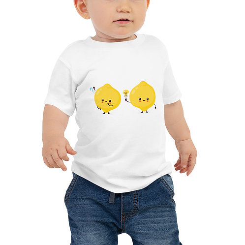 LD Lemon Twins Baby Jersey Short Sleeve Tee