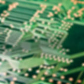 Green bare printed circuit board