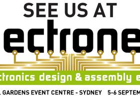 Visit us at Electronex 2018!