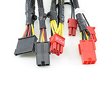 Set of 5 wire harness cables