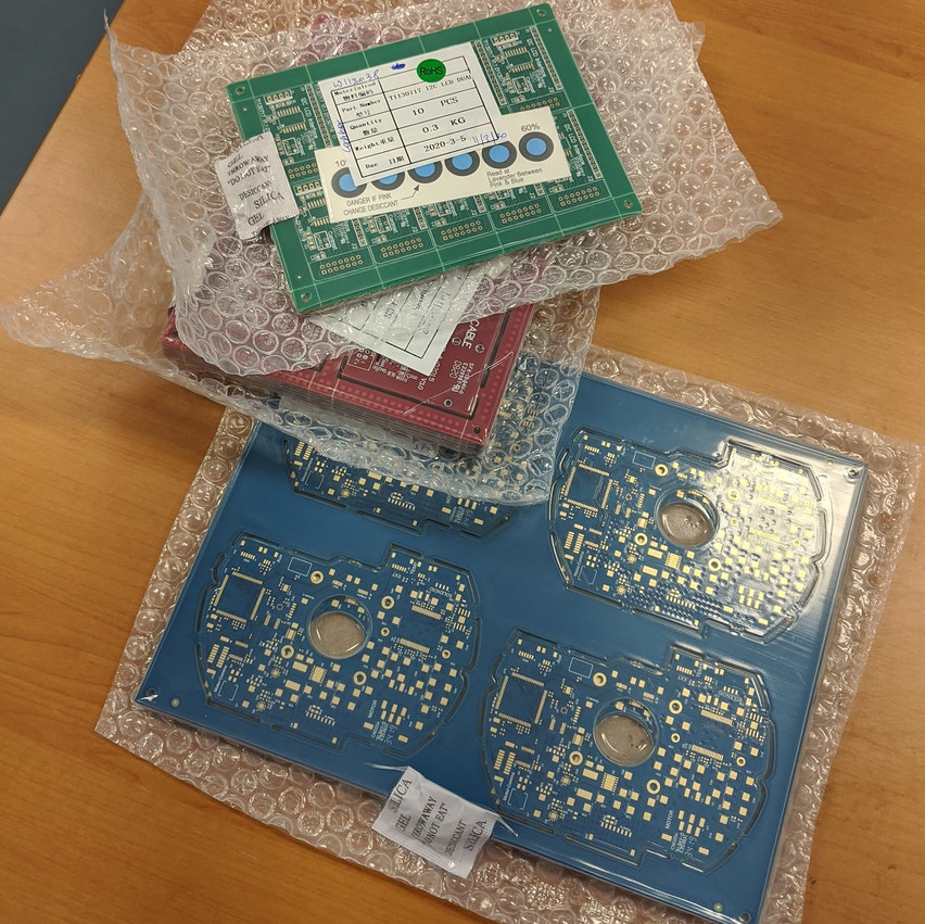 Shrink wrapped PCBs