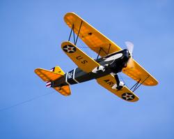 P-6 in flight