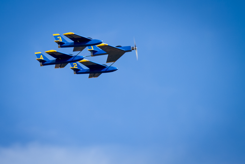 Northern Aces Blue Angels Blue Sky