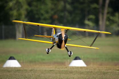 P-6 Landing