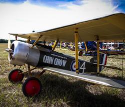 Chin Chow WWI Biplane