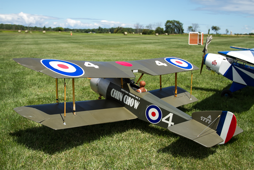 WWI biplane And Cub