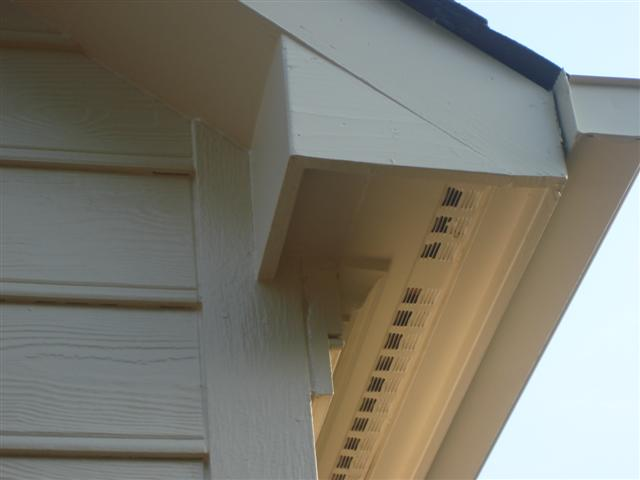 Soffit Painting - After
