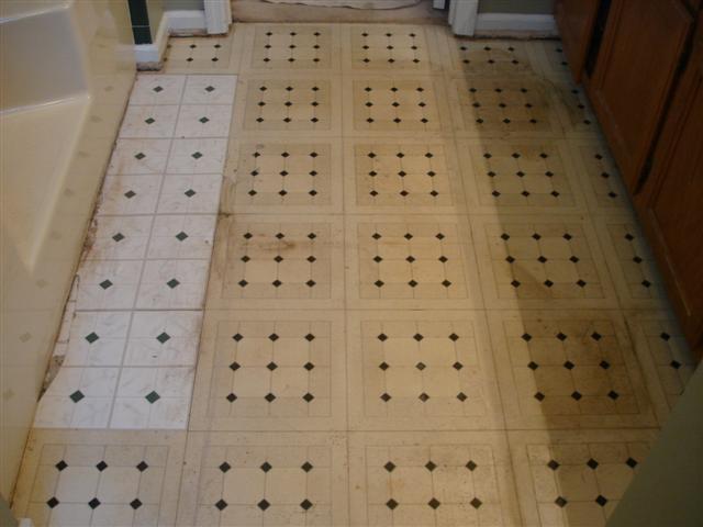 Flooring - Before