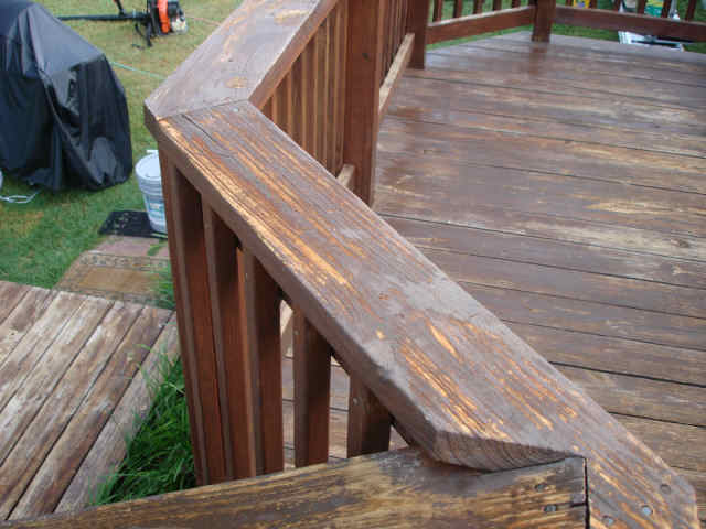 Deck Repair - Before