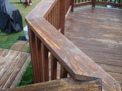 Deck Repair - Before
