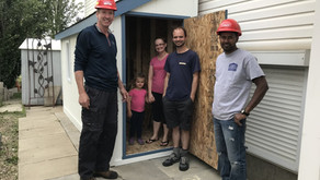 Dream shed now a reality for raffle winners!