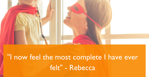 """I now feel the most complete I have ever felt"" - Rebecca"