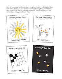 Family Links Kindness charts examples