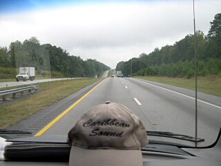 On the road in SC_