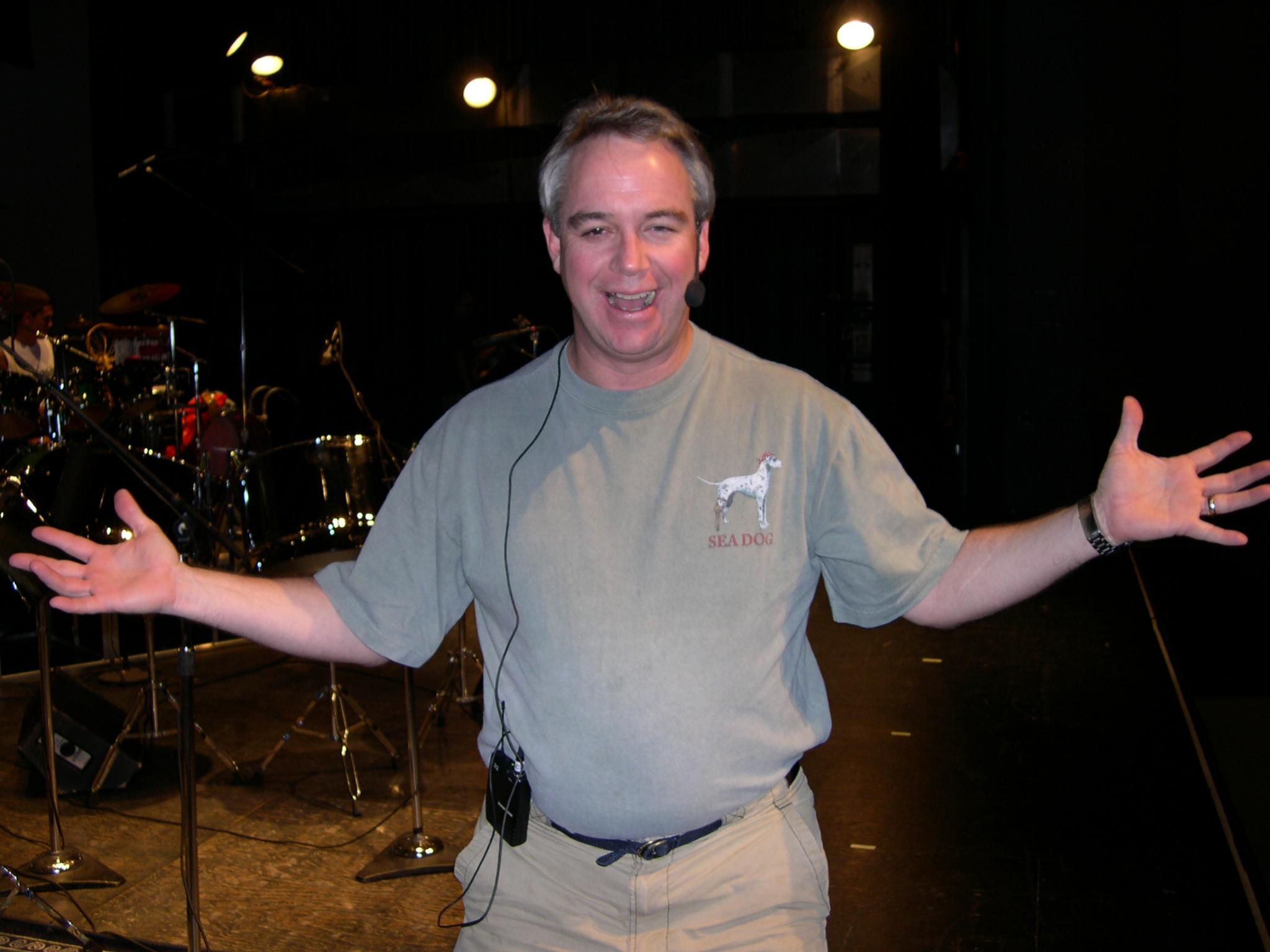Mike Wilson always happy_
