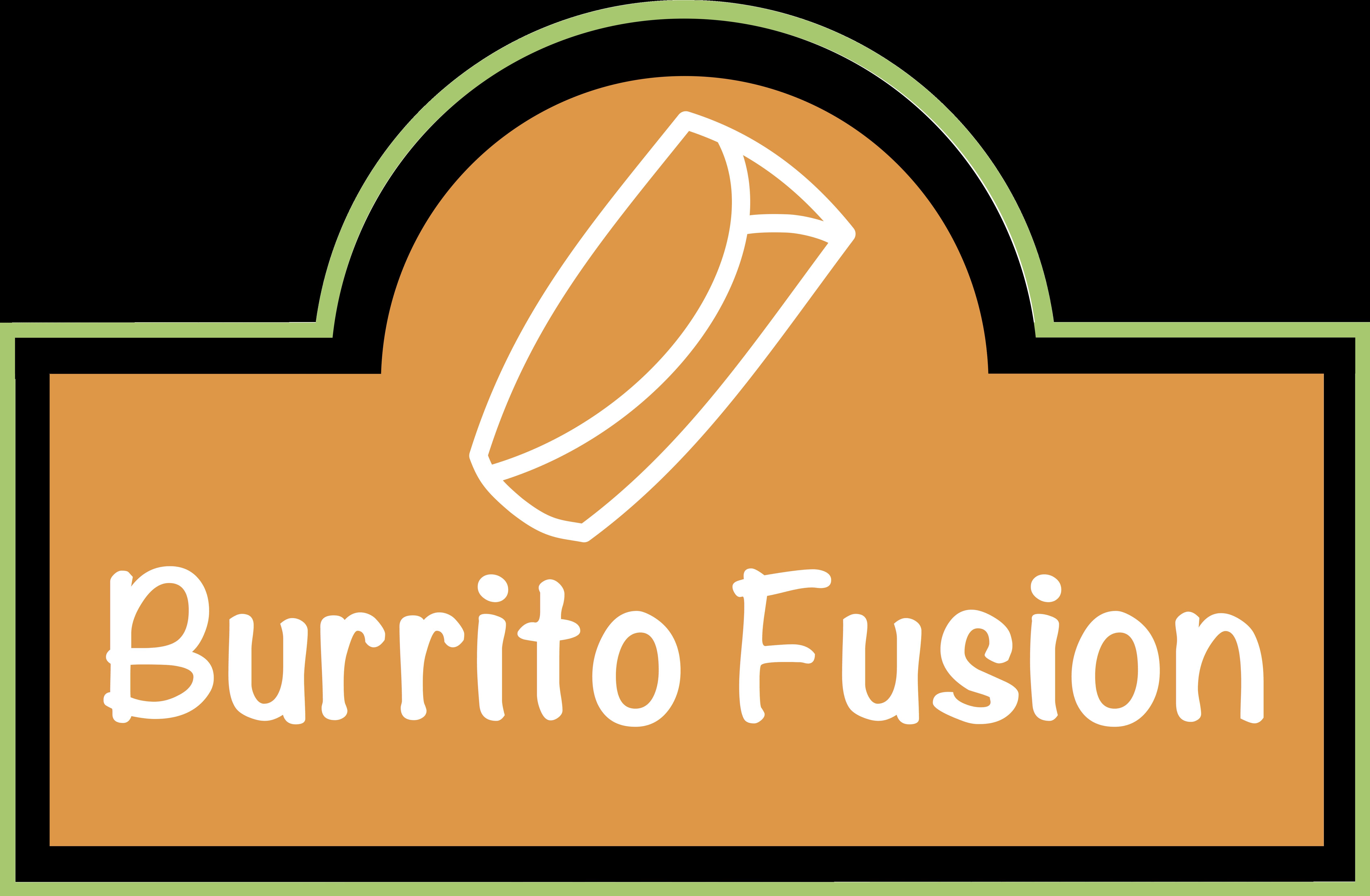 Burrito Fusion Logo Option B