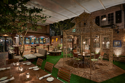 Patio Seating At Louie Bossi