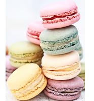 image of macarons