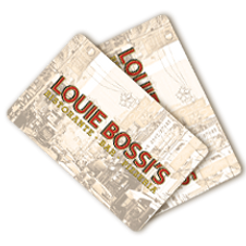 Louie Bossi's Gift Card