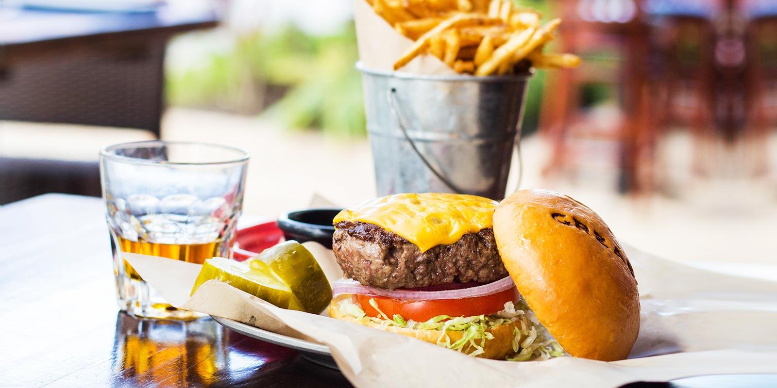 Grease Burger Bar Clematis St Wpb Fl