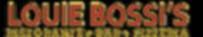 Louie Bossi's Logo