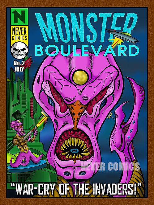 PRINT - MONSTER BOULEVARD #2