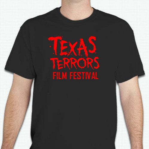 TEXAS TERRORS FILM FESTIVAL T-SHIRT -NEW DESIGN!