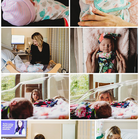 Brooke | Fresh 48 Hospital Newborn Session | Kaiser Irvine Hospital | Newborn Photographer Kathleen