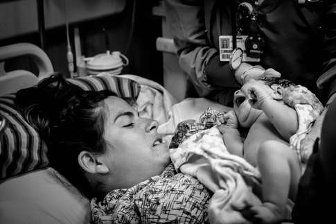 Mom meeting baby-Hoag Hospital-Bug and Roo Photography-Birth Photographer-Newport Beach, Orange County