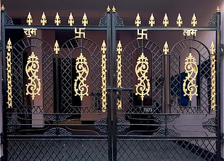 indian  fancy gate design