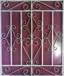 4×3 लोहा ग्रिल डिजाइन