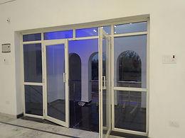 10×10 Aluminium glass door