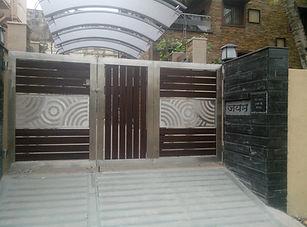 stainless steel gate design