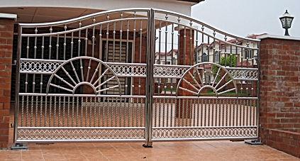 stainless steel gate _ tohid fabricators