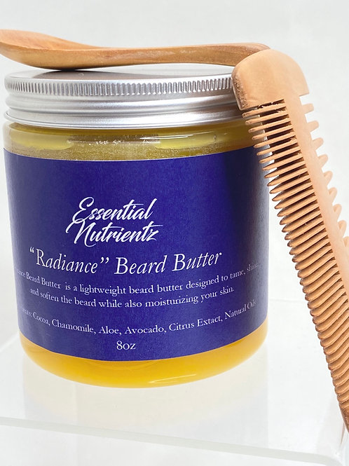 Radiance Beard Butter and Comb Set