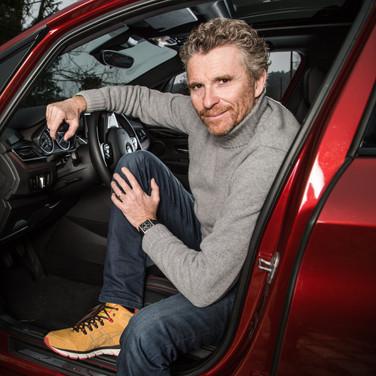 Denis Brogniart & BMW Active Tourer (2015)