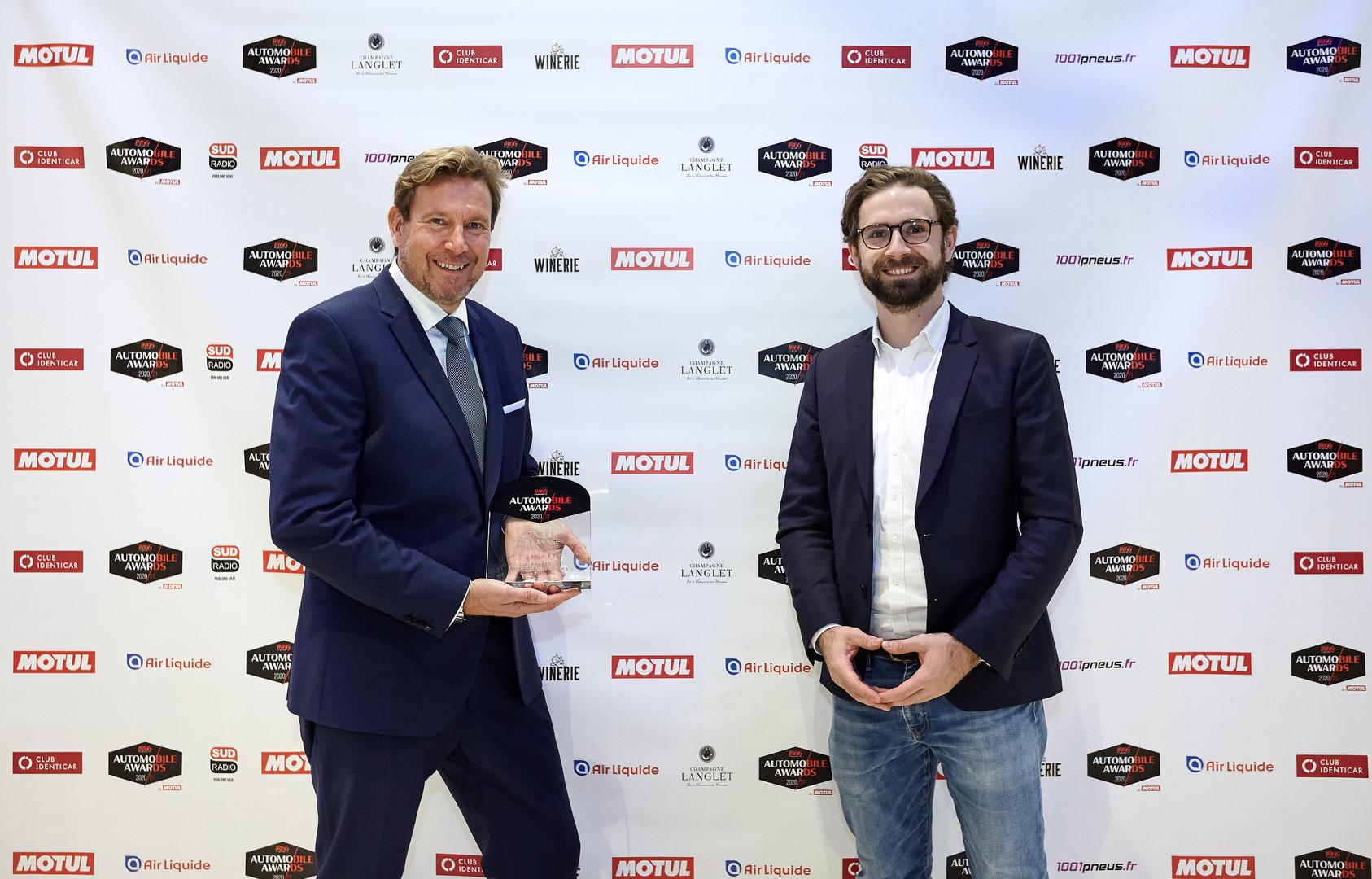 Cyrille Roget (Directeur Communication technique & scientifique Michelin) & Jean Lazime (Directeur Commercial 1001 Pneus)