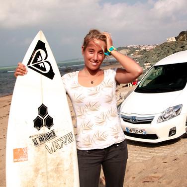 Lee Ann Curren & Toyota Auris (2010)