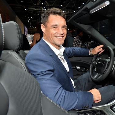 Dan Carter & Land Rover Evoque Cab (2016)