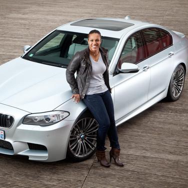 Lucie Décosse & BMW M5 (2012)