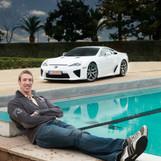 Alain Bernard & Lexus LFA (2010)