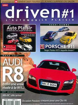 Driven N°1 LR66 Création de magazine