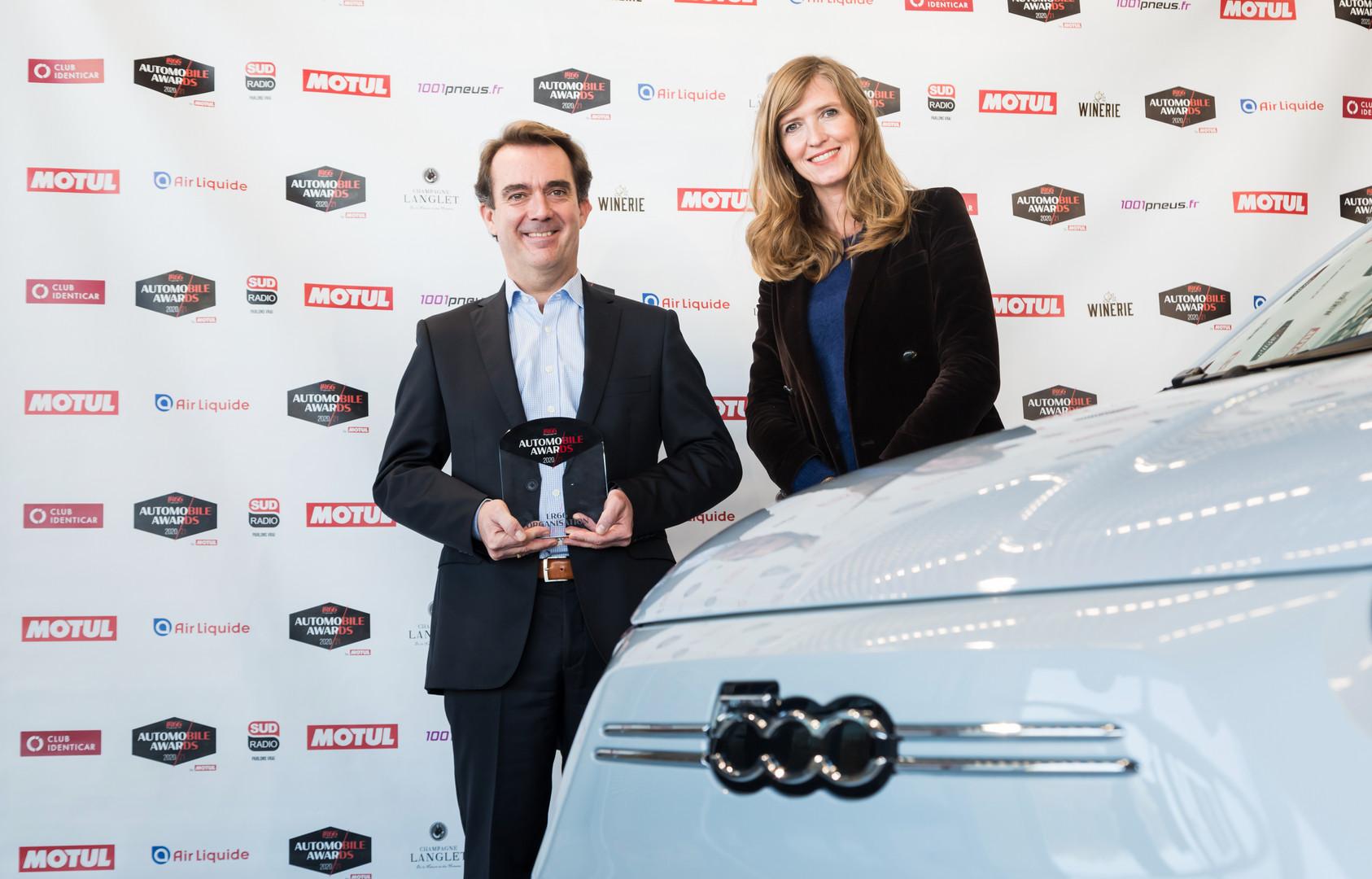 Philippe Vautier (Directeur Marque FIAT) &  Astrid Sergeant (Agence Sergeant Paper)