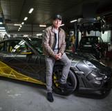 Laurent Baffie & Porsche 911 by Orlinski (2018)