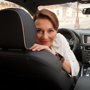 Valeria Cavalli & Audi Q5 Hybrid (2011)