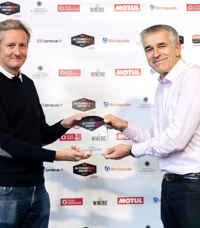 Pierre de Vilno (Europe 1) & Vincent Cobée (DG Citroën)