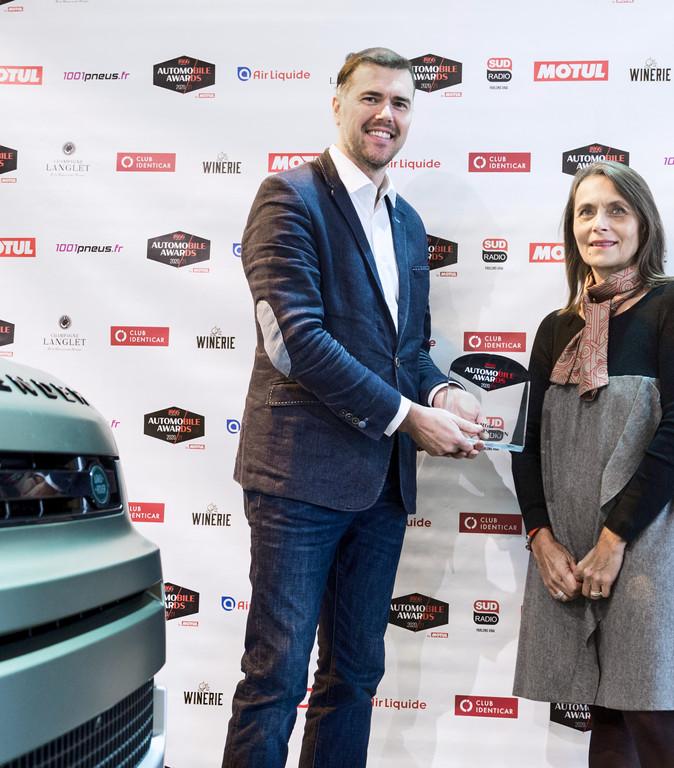 Steven de Ploey (Président Jaguar Landrover France) & Dominique Lecocq (Air Liquide)