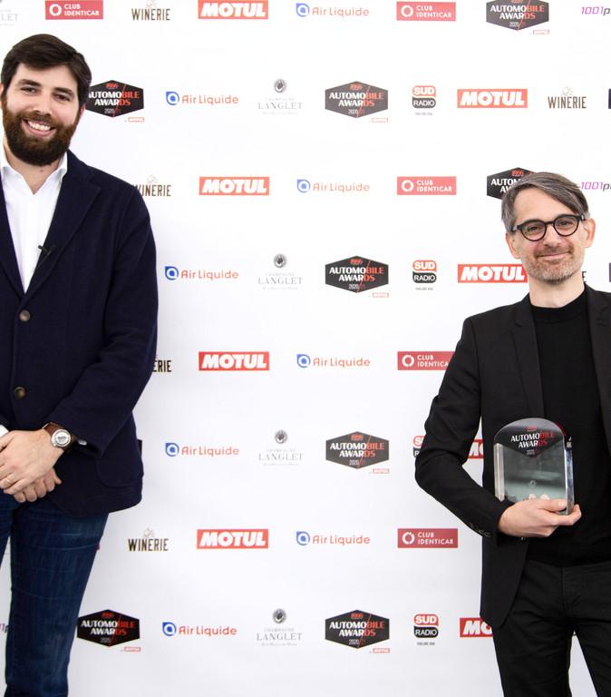 Jonathan Tuchbant (Club Identicar) & François Leboine (Directeur Design Concept cars Renault)