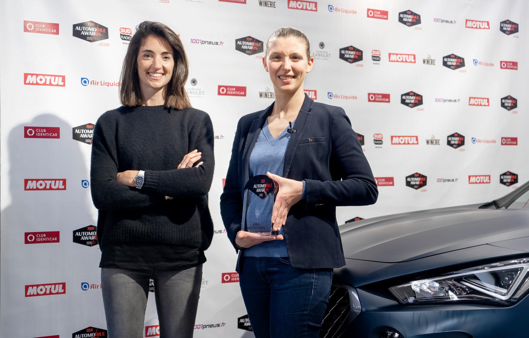 Margot Laffite (Canal +) & Elise Remark (Directrice Marketing Cupra)