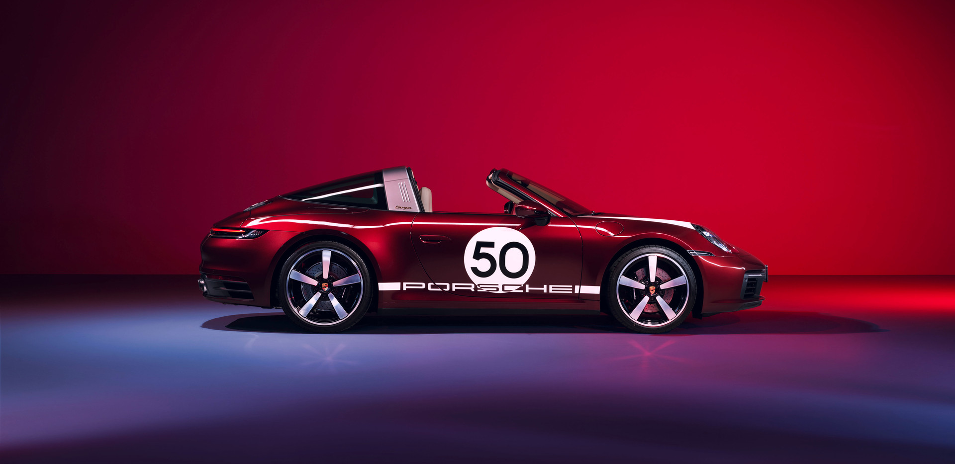 Porsche 911 Targa 4S Heritage